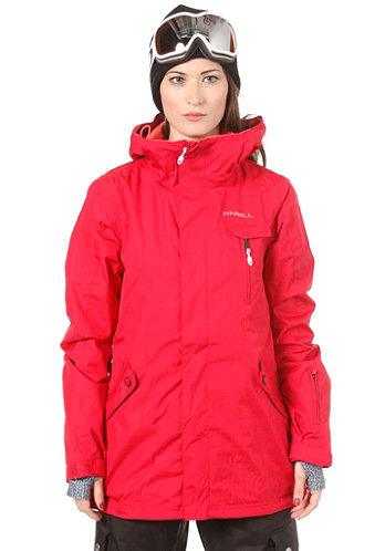 Womens Rainbow Jacket society red