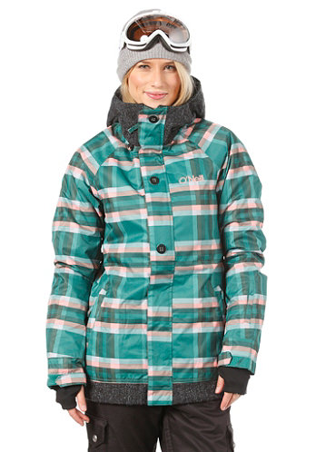 Womens Peridot Jacket green/aop