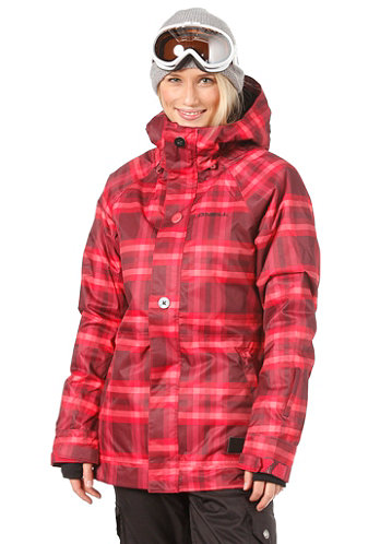 Womens Peridot Jacket red/aop/4