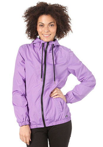 Not So Classic Windbreaker vibrant purple
