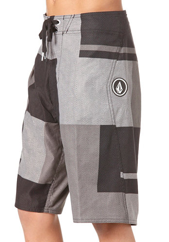 Kids V2S Maguro Block Boardshort pewter
