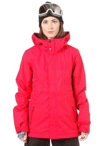 Womens Frame Jacket society red