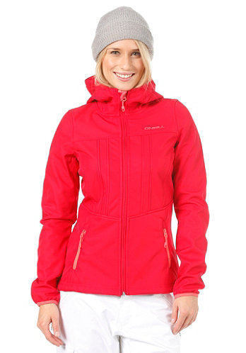 Womens Frame Hyperfleece society red