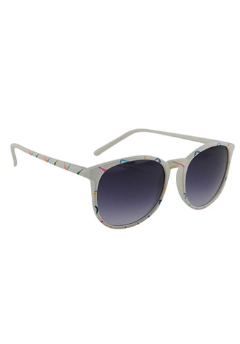 Poppy Shades weiss/multi