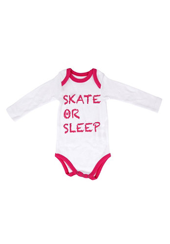 Kids Graffik Body Knit Shirt white