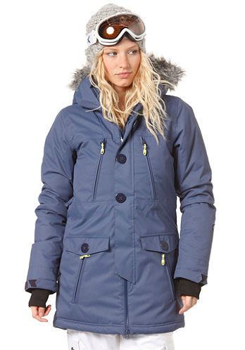 PWFR Spellbound Shell Parka Jacket sunrise/blue