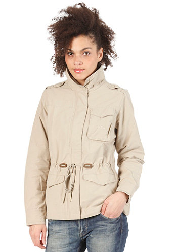 Short Parka Jacket tech gold