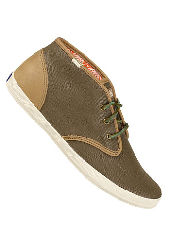 Champion Chukka oiled Canvas loden loden