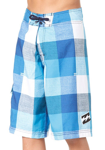 Kids Ru Serious Boardshort bright blue