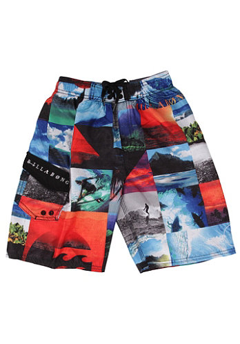 Kids Capture Boardshort multi