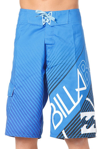 Kids Friction Boardshort neo blue