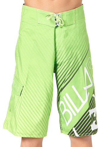 Kids Friction Boardshort neo green