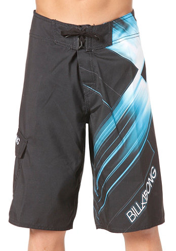 Kids Implode Boardshort black/ice