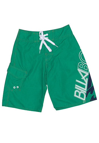 Kids Overdrive Boardshort bright kelly