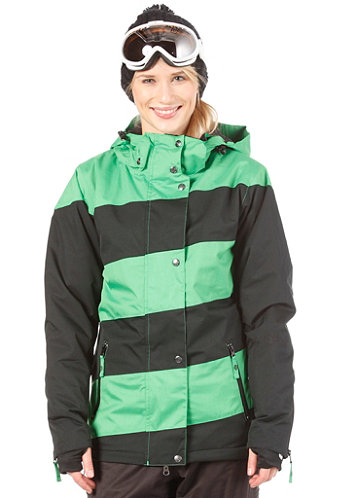 Mia Jacket 2013 Black/Kelly Green
