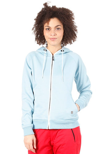 Charm Fleece 2013 Light Blue/White