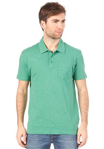Ss Sunset Jersey Polo pine green