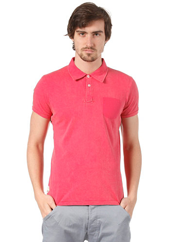 Shell S/S Polo Shirt raspberry