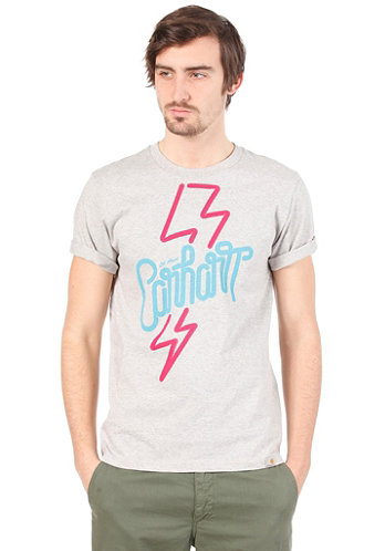 24 Hours S S T Shirt light grey heather multicolor