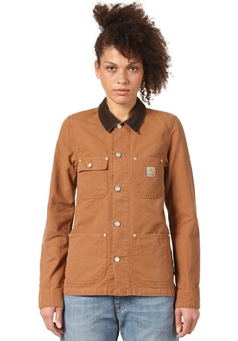 Womens Michigan Coat carhartt brown
