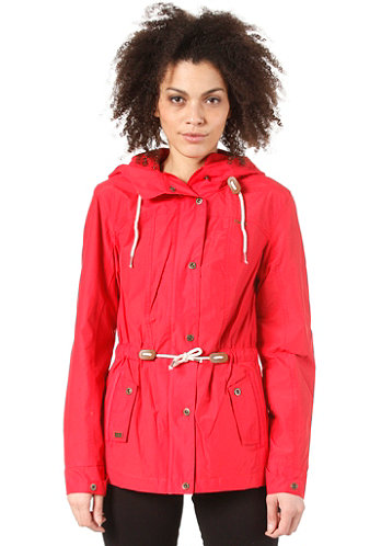 Womens Bright Jacket red