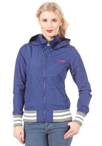 Womens Campus Jacket blue depths