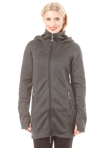 Womens Bradiestar Cardigan bench black marl