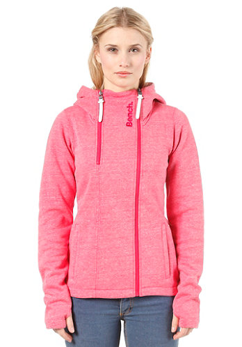 Womens Sandray Sweat Jacket rose red