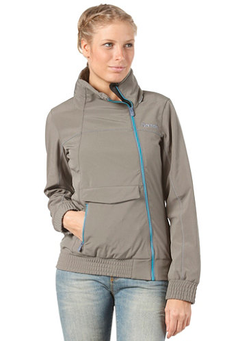 Womens Little Lever Jacket gunmetal