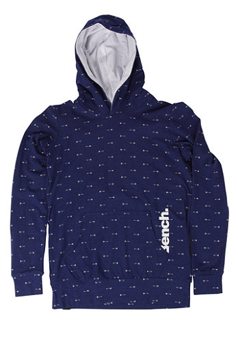 Kids Arrow Hooded Sweat blue depths