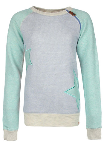 Kids To Be Shy Sweat Shirt pool green