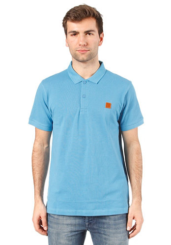 Tidie Polo S/S Shirt cendre blue
