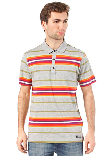 Margam Polo S/S Shirt grey marl