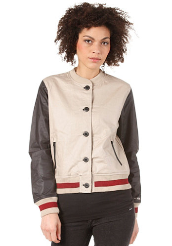 Womens Campus Jacket khaki