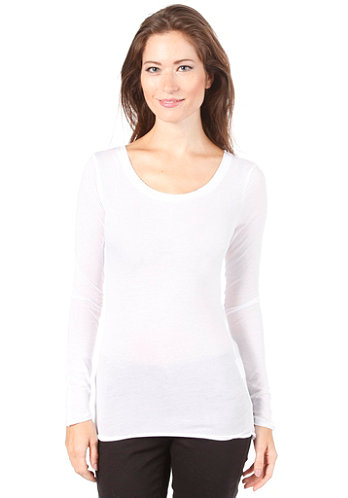 Womens Nevins L/S Top optical snow