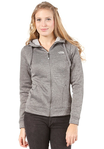 Womens Kutum Zip Sweat tnf black heather