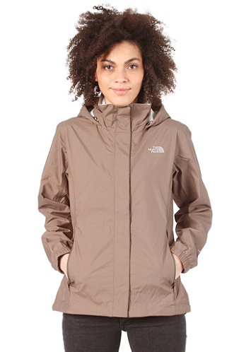 Womens Resolve Jacket weimaraner brown