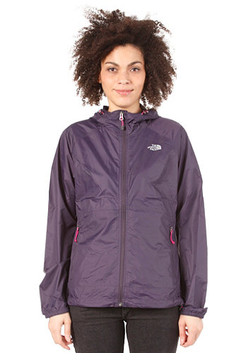 Womens Flyweight Hoodie Jacket grand purple