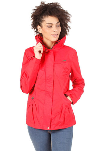 Womens Plenty Jacket red