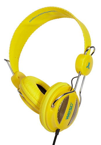 Oboe NS Headphones vibrant yellow
