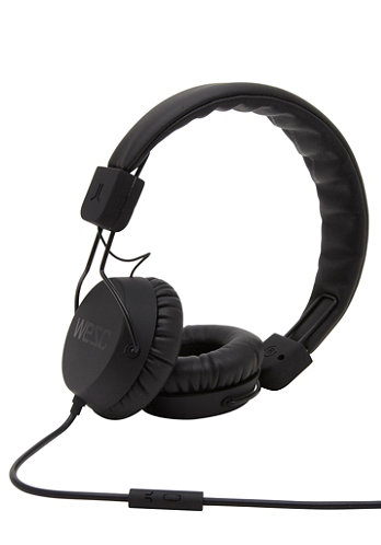 Piston Headphones black / noir