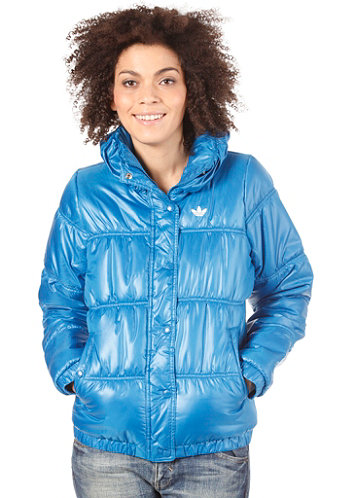 Womens Padded Jacket dark royal