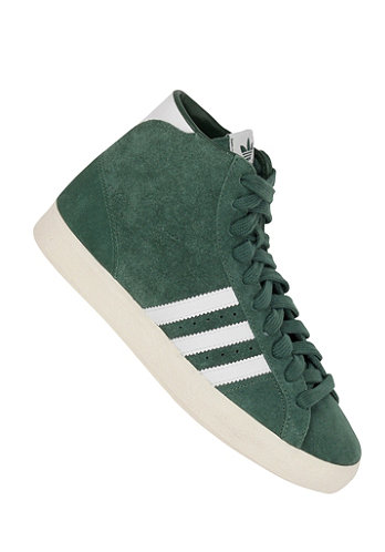 Basket Profi dark green / white / ecru