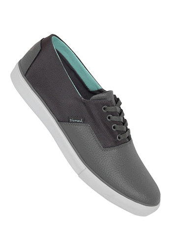 Diamond Cuts Shoe grey diamond blue canvas