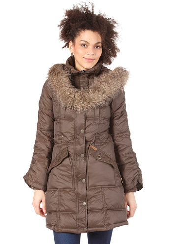 Womens Koos Coat Jacket mud