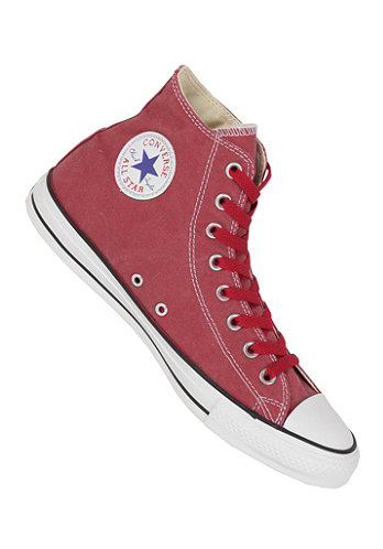 Chuck Taylor All Star Basic Washed Hi Textile jester red