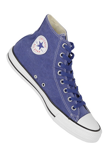 Chuck Taylor All Star Basic Washed Hi Textile deep ultramarine