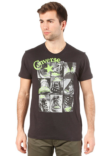 AMT Chucks Photo Print Crew S S T Shirt black