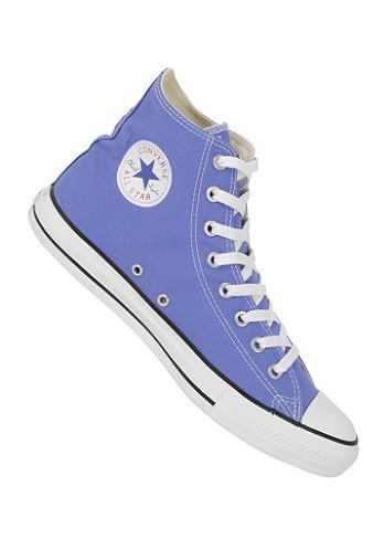 Chuck Taylor All Star Seasonal Hi Canvas b. blue