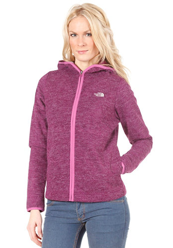 Womens Gouken Hooded Zip Sweat premiere purple heather